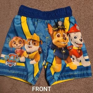 3T Paw Patrol swim trunks